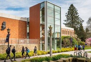 University of Portland; Clark Library