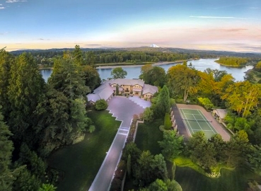 willamette view estate west linn aerial